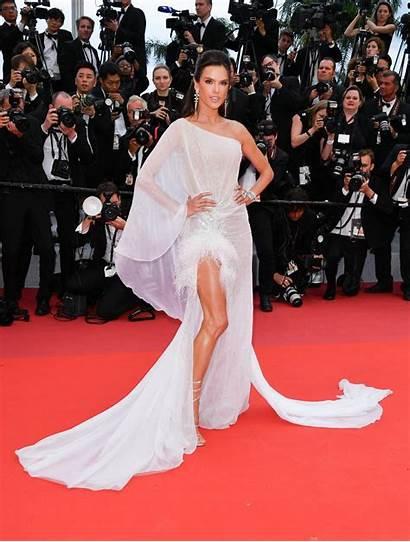 Alessandra Ambrosio Carpet Cannes Film Festival Celebrity