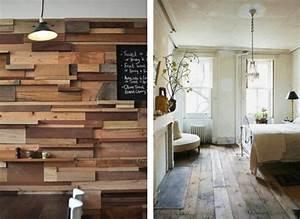 Deco Mur En Bois Planche : palette bois sol mur palettes relook es pinterest ~ Dailycaller-alerts.com Idées de Décoration