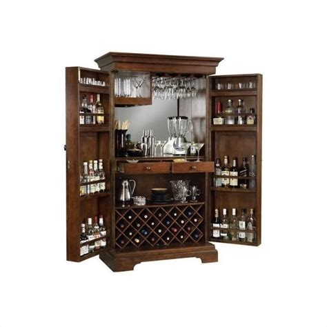 howard miller sonoma in americana cherry home bar armoire u0026 liquor howard miller sonoma hide a home bar in americana cherry