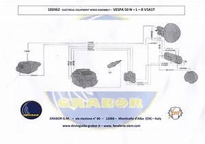 Schaltplan Vespa V50 6v