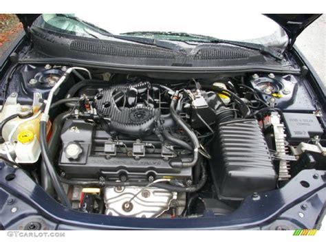 2004 Chrysler Sebring Engine by 2004 Chrysler Sebring Lx Sedan 2 7 Liter Dohc 24 Valve V6