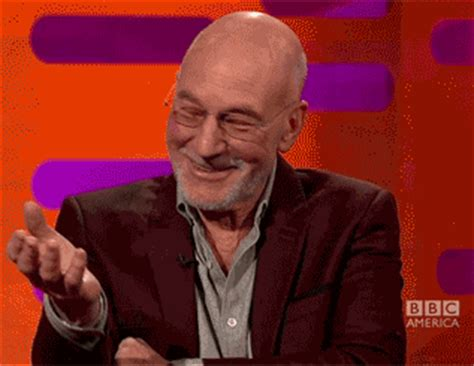 patrick stewart gif patrick stewart embarrassed reaction gifs