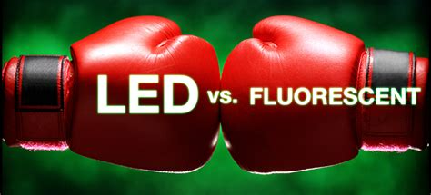 light fights led vs fluorescent premier lighting