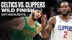 Celtics vs Clippers Wild Game   2OT Highlights   PRO Gambler