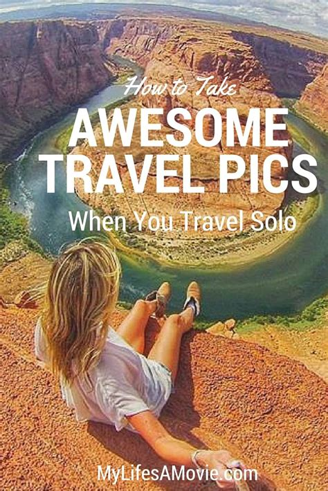 tips    solo travel selfie female travel