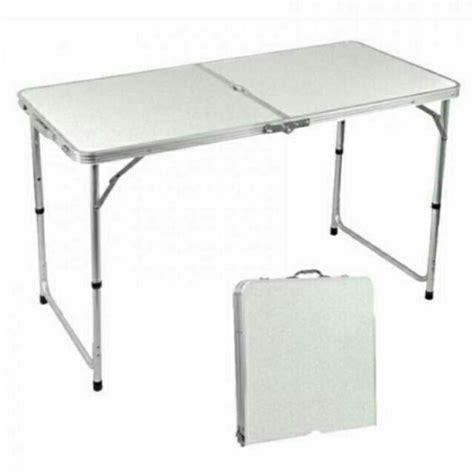 promotions folding table aluminium meja lipat