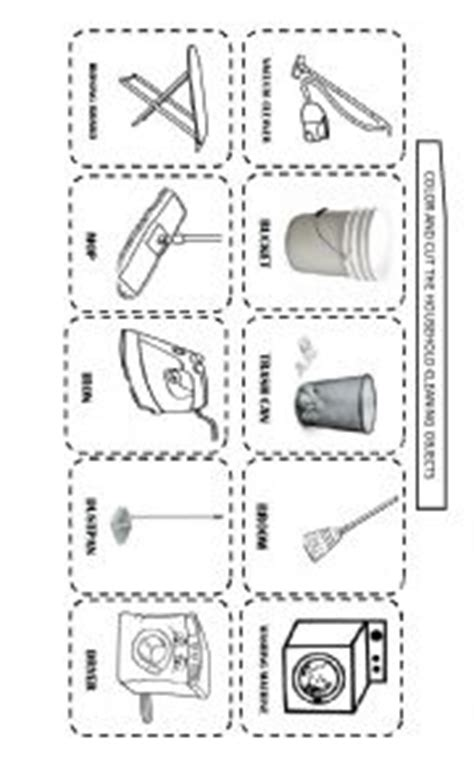 house cleaning house cleaning worksheet st grade