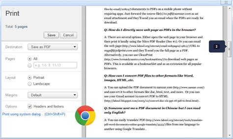 save web pages  pdfs  installing extensions