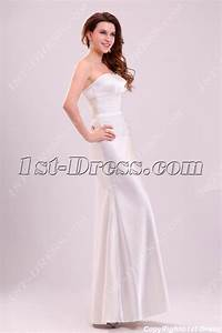 bridal gowns gt casual bridal gowns gtsimple sheath satin With casual sheath wedding dresses