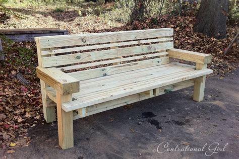 diy project wooden wax seal   build  wood bench