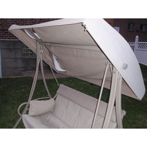 replacement patio swing canopy home depot 2 person 2004 replacement canopy s02239 garden winds