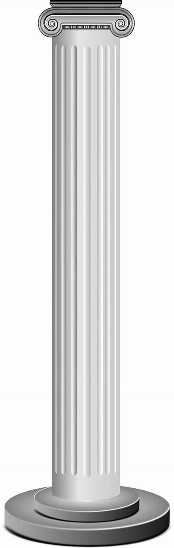 Column Clipart Columns Clip Cliparts Roman Openclipart