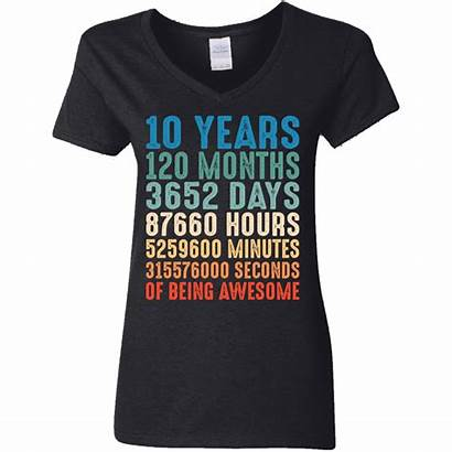 Birthday Years 10th Shirts Months Funny Cool