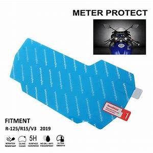 Motorcycle Speedometer Screen Protector Clear For Yamaha
