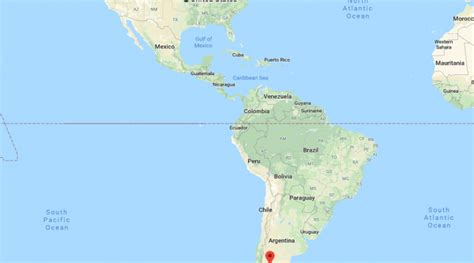 Where Is Patagonia? Located On The World Map  Where Is Map