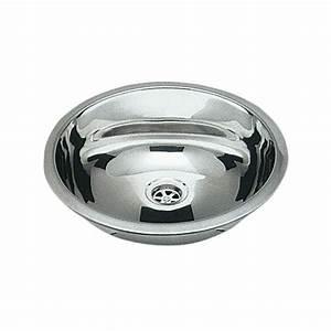 Evier Inox Rond : osculati lavabo inox rond salle de bain camping car et bateau ~ Melissatoandfro.com Idées de Décoration