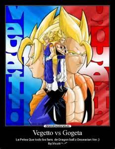 Gogeta vs Vegito Dragon Ball Meme