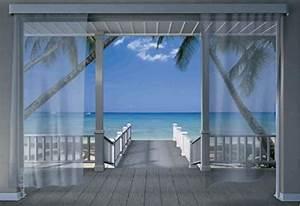 Fototapete Fenster Aussicht : fototapete caribbean aussicht meer terrasse karibik neu ebay ~ Michelbontemps.com Haus und Dekorationen