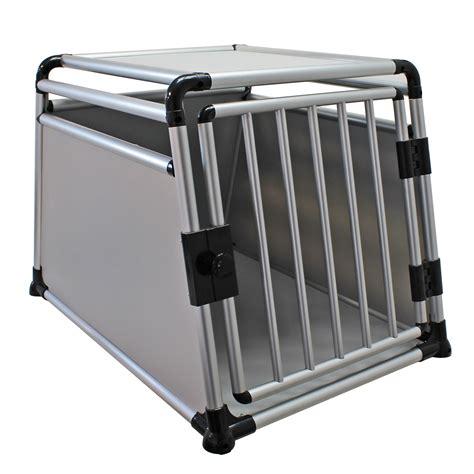 hundebox auto alu hunde transportbox hund auto alu mdf k 228 fig 1 gro 223 e t 252 r reise hundebox ebay