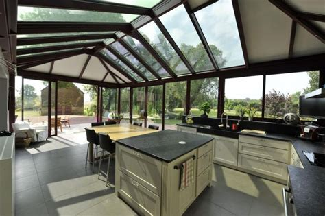 cuisine veranda aménager une cuisine dans une véranda cuisine déco et