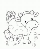 Coloring Pig Pigs Printable Cow Colouring Sheets Kleurplaat Template Varken Clipart Kleurplaten Cows Popular Library Coloringhome Mouth Cartoon sketch template