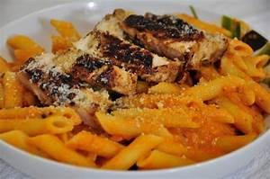 Pasta with Vodka Blush Sauce & Chicken