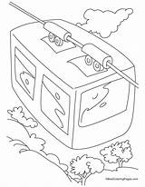 Cable Coloring Pages Drawing Getdrawings sketch template