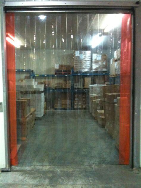 vinyl door curtain 120 quot x 96 quot cooler freezer