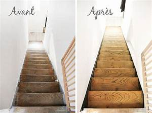 retaper un escalier en bois 20170728044121 arcizocom With nice peindre des escalier en bois 16 les escaliers avant apras