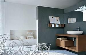 farbgestaltung badezimmer wandfarbe grau freshouse
