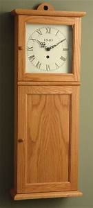 Shaker wall clock movements cool workbench ideas for Shaker wall clock kit