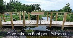 Petit Pont En Bois : construire un pont pour ruisseau plan de petit pont de jardin en bois photos mur sud ~ Melissatoandfro.com Idées de Décoration