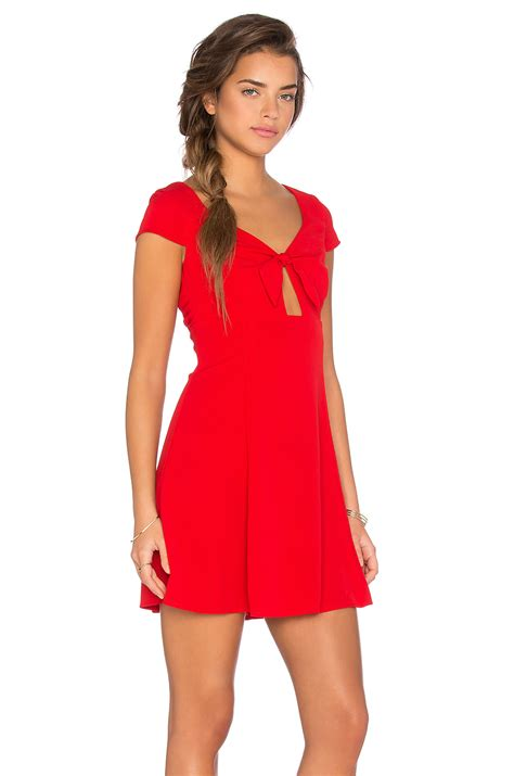 Glamorous Dress in Red - Lyst