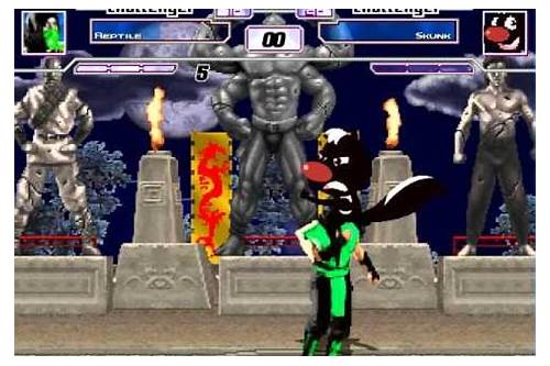 mugen boss fight