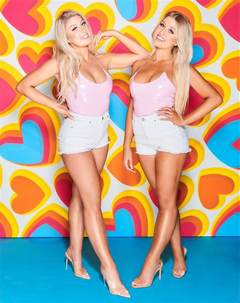 Love Island twins Eve and Jess Gale are indundated with ...