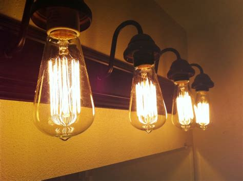 cool brushed bronze  bulb vintage style industrial edison