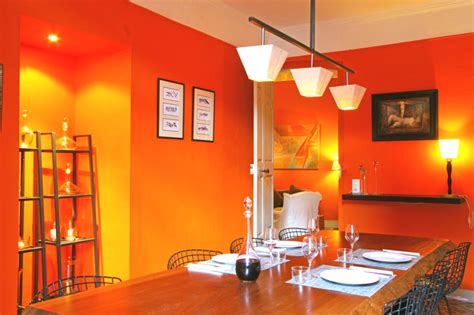 deco cuisine orange inspiration décoration cuisine orange