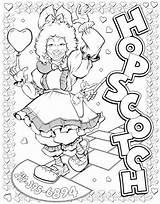 Hopscotch Coloring sketch template