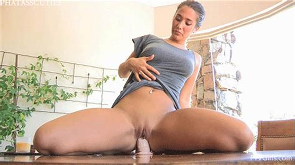 #Pussy #Stuffed #With #Dildo