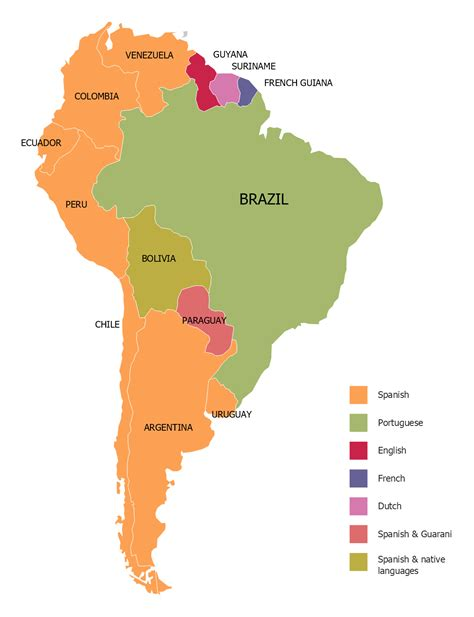 geo map south america continent   draw south