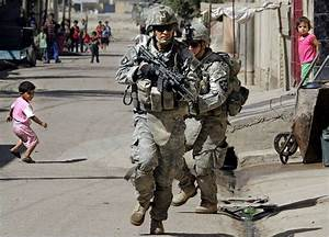 The gallery for --> American Soldiers Running