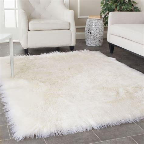 fluffy area rugs big white fluffy rug rugs ideas