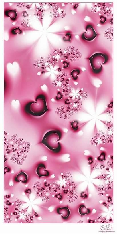 Phone Heart Pink Backgrounds Deviantart Pretty Wallpapers