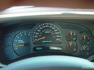 Instrument Cluster Problem 2004 Chevy Truck