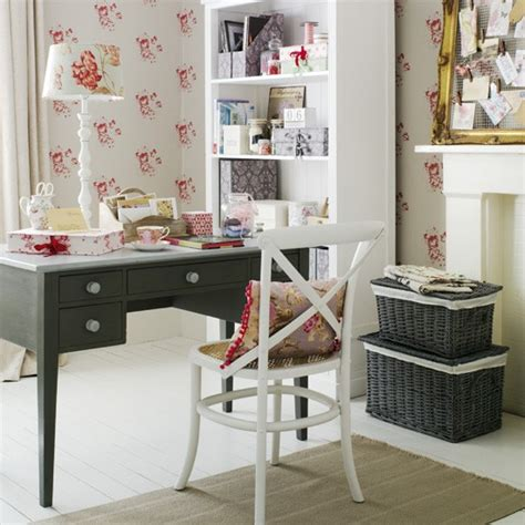 go for a feminine country home office 5 clever ideas for