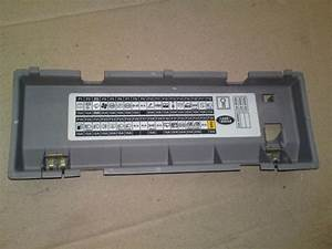 Land Rover Freelander Fuse Box Cover
