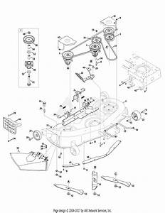 Mtd 14aq81gh897  2009  Parts Diagram For Mower Deck 46 Inch