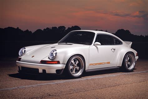 singer vehicle design  williams dls porsche coupe uncrate