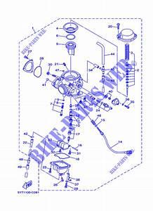 Carburateur Yfm350 Yfm35rx Raptor 350 Raptor 010 Yamaha Moto Yfm350 350 2008 All Countries