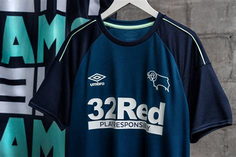 Derby County 2020-21 Umbro Away Kit | 20/21 Kits ...